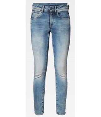 G-Star Arc 3D mid waist skinny blauw D05477-8968-071