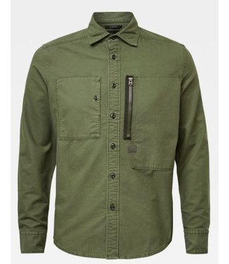 G-Star Powel slim shirt groen D16233-C093-2162