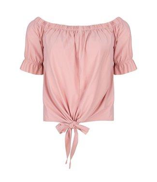 Jane Lushka Nicole knotted top roze U620SS660