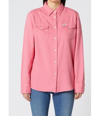 Wrangler Jeanies shirt roze W5Q18UP09