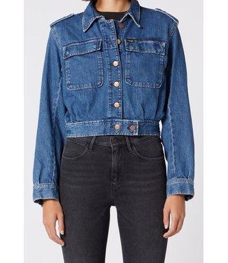 Wrangler Explorer jacket blauw W406Q393E