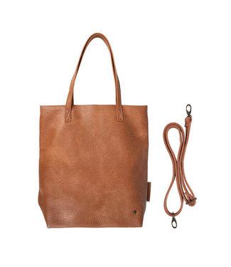 Zusss Basic shopper bruin