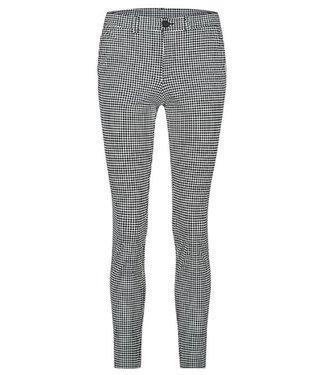 PENN&INK N.Y Trouser AOP zwart S20N701P