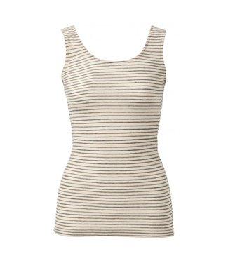 Yaya Cotton blend singlet BONE WHITE 1919146-013