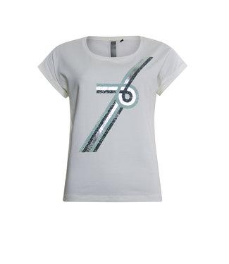 Poools T-shirt off white 013118