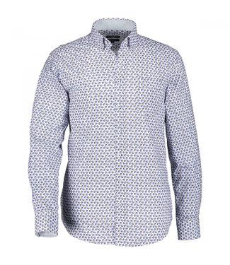 State of Art Shirt Printed Poplin violet 214-10207-6411