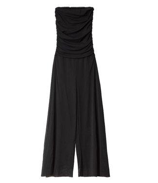 10Days Strapless jumpsuit zwart 20-083-0201