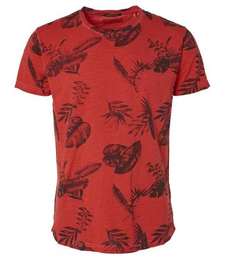 No Excess T-Shirt R-neck, slub, All over Printed Cayenne 95350217