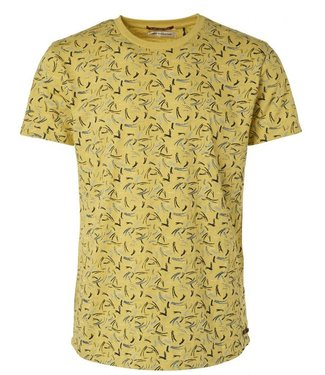 No Excess T-Shirt R-neck, All over Printed lime 95350355