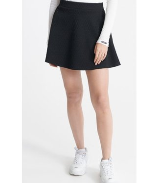 Superdry Brooke skater skirt zwart W7210006A