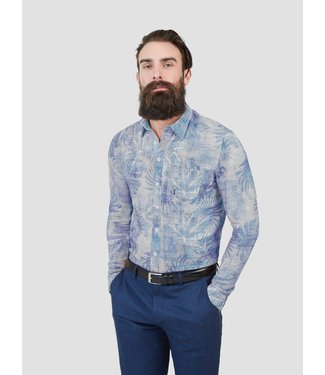 Pearly King Allude blauw 2001 Overhemd