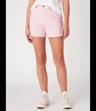 Wrangler Mom short roze W22DMHP10