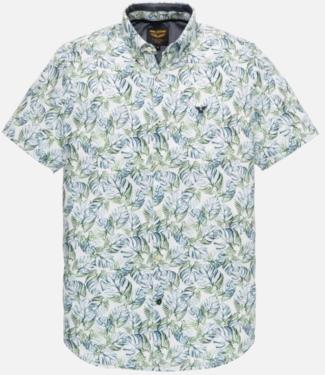 PME Legend Short Sleeve Shirt Slub fabric wit Mood Indigo PSIS202239