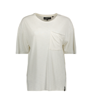 Superdry Canyon essential pocket tee off white W6010010A