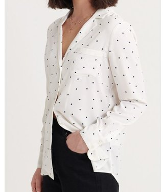 Superdry Blair revers collar blouse wit W4010016A