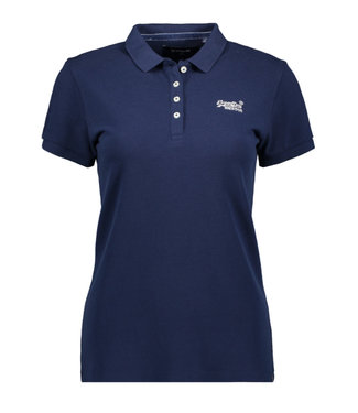 Superdry Polo shirt donkerblauw W6010017A