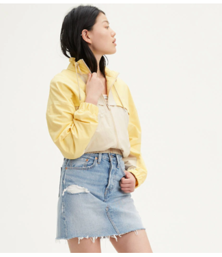 Levi's HR Decon iconic bf skirt lichtblauw 77882-0015