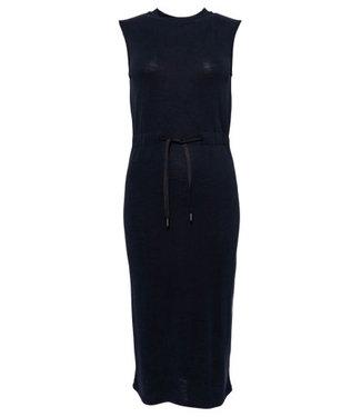 Superdry Desert drawstring midi dress zwart W8010124A