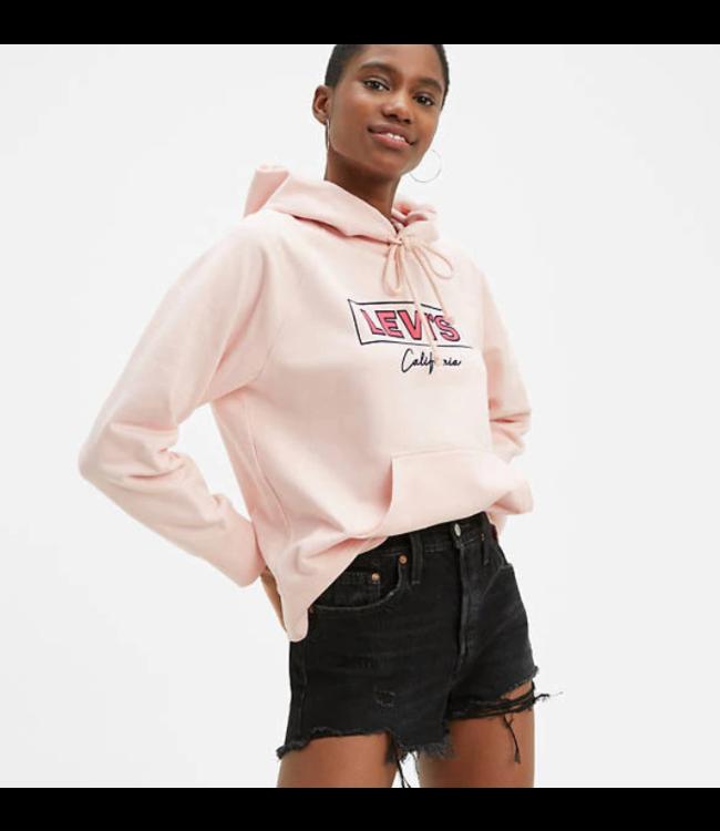 Levi's Graphic sport hoodie roze 35946-0167