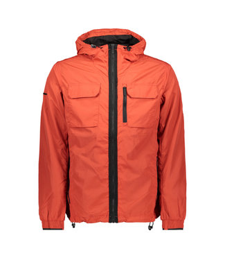 Superdry Edit traveller cagoule rood M5010032A