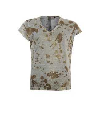 Poools T-shirt spots off white 013210