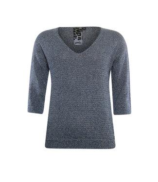 Poools Sweater blauw 013206