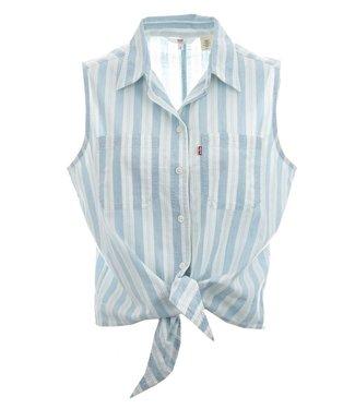 Levi's Alina tie shirt wit 85378-0001