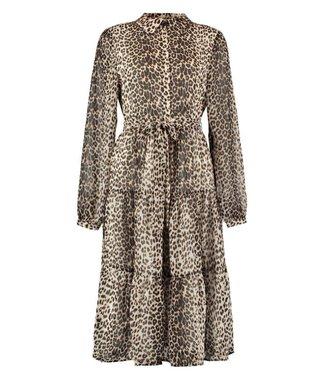 NA-KD Ruffled midi dress multicolour 1100-002156