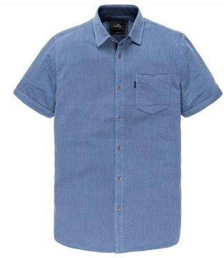 Vanguard Short Sleeve Shirt Twill small Blue Yonder VSIS202234