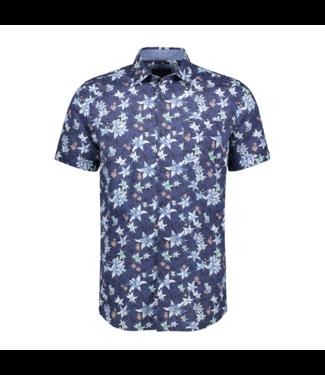 Vanguard Short Sleeve Shirt Print on cotton Blueprint VSIS202232