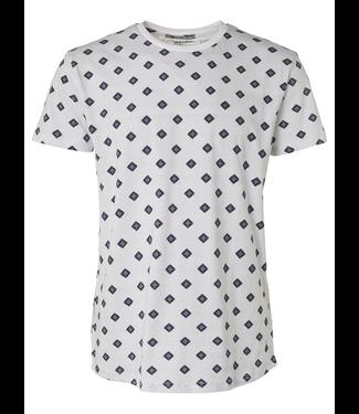 No Excess T-shirt R-Neck, stretch, AO white 95340305