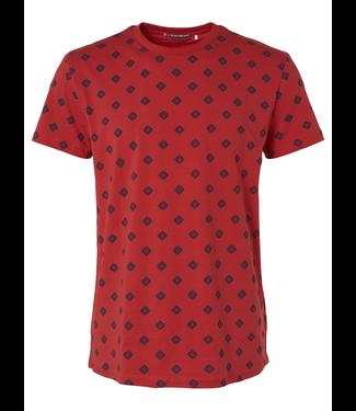 No Excess T-shirt R-Neck, stretch, AO Cayenne 95340305