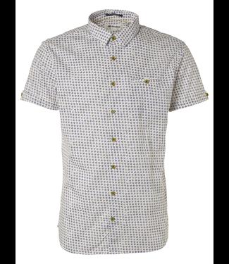 No Excess Shirt all over printed, stretch white 95490206