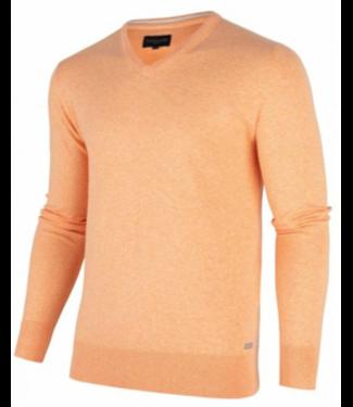 Cavallaro Tomasso r-neck pullover oranje 1801002
