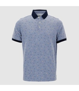 Baileys Poloshirt blauw 105241