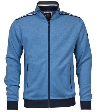 Baileys Sweat cardigan zip blauw 102237