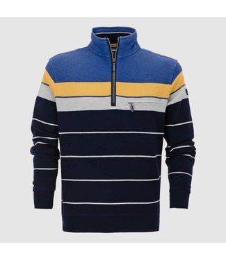 Baileys Sweatshirt shirt zip style geel 103199