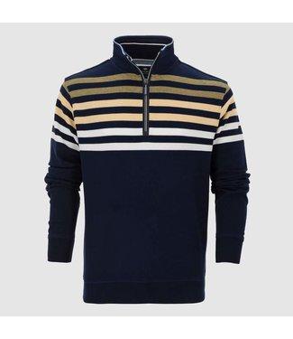 Baileys Sweatshirt shirt style zip groen 103197