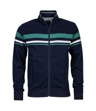 Baileys Sweat cardigan zip groen 102293