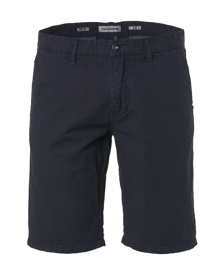 No Excess Short, check dyed, stretch navy 958190318