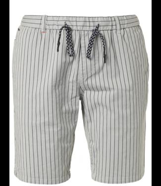 No Excess Short, yd stripe, garm.dye, stretch Chalk 958190314