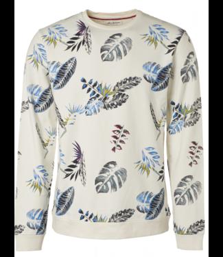 No Excess Sweater, R-Neck, AO Printed, stretc offwhite 95110101