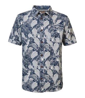 Petrol Industries Shirt ss blauw M-1000-SIS436