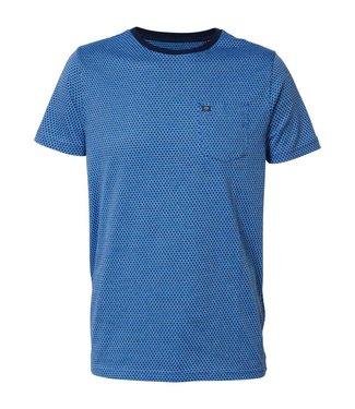 Petrol Industries T-shirt ss r-neck blauw M-1000-TSR665