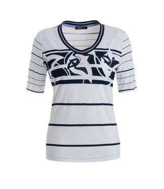 Frank Walder Shirt white Print S02203411