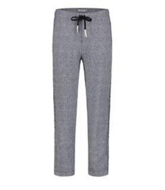 PENN&INK N.Y Trouser check donkerblauw S20F734