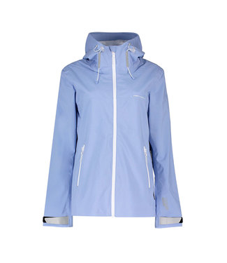 Superdry Ls essentials harpa waterproof jacke lichtblauw W5010006A