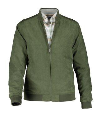 State of Art Jacket Plain - Bomber mosgroen 781-10866-3700
