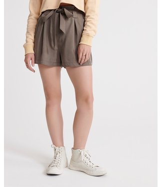 Superdry Desert paper bag short zand W7110028A