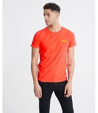 Superdry OL neon lite tee oranje M1010026A